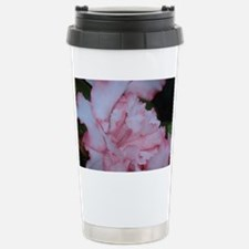 Macro Flower Stainless Steel Travel Mug