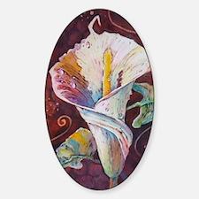 Summer Calla Sticker (Oval)