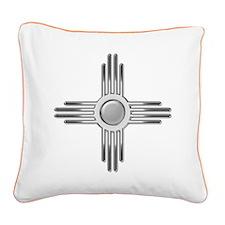 Zia Square Canvas Pillow