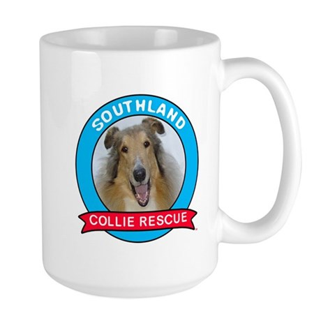 Southland Collie Rescue Large Mug Mugs
