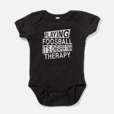 Awesome Foosball Player Designs Baby Bodysuit