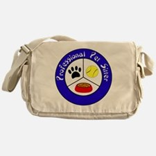 Professional Pet Sitter Crest Messenger Bag