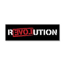Unique Ron paul revolution Car Magnet 10 x 3