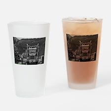 An Honest Days Work Drinking Glass