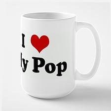 I Love My Pop Mugs