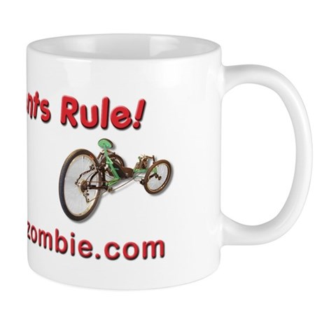 Recumbents Rule Mugs