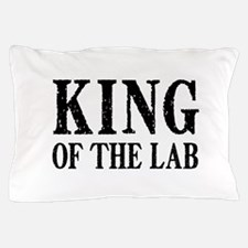 King of the Lab Pillow Case