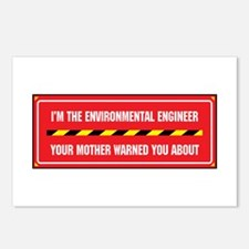 I'm the Environmental Engineer Postcards (Package