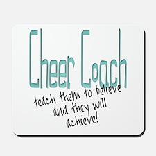 teach to believe Mousepad