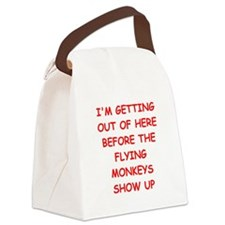 leaving Canvas Lunch Bag