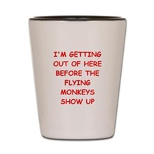 leaving Shot Glass
