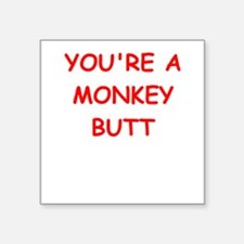 monkey butt Sticker