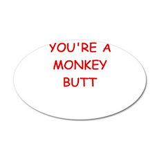 monkey butt Wall Decal