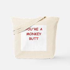 monkey butt Tote Bag