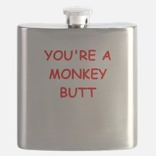 monkey butt Flask