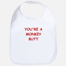 monkey butt Bib
