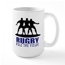Rugby Rule The Field Mug