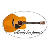 Acoustic guitar Bumper Stickers
