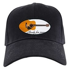 acoustic guitar ready for jammin Baseball Hat