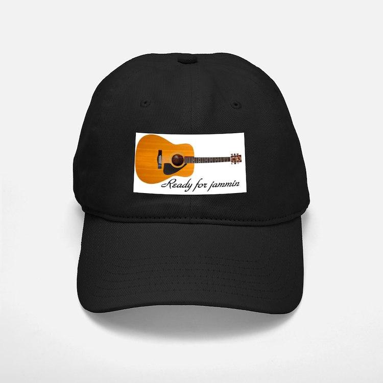 acoustic guitar ready for jammin Baseball Hat