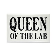 Queen of the Lab Rectangle Magnet