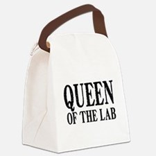 Queen of the Lab Canvas Lunch Bag