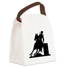 Barrel Racing Canvas Lunch Bag