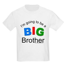 Tricolor-I'm going to be a big brother T-Shirt