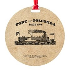 Port of Golconda Ornament