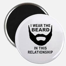 "I Wear The Beard 2.25"" Magnet (100 pack)"