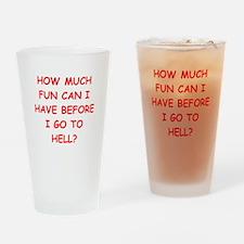 fun Drinking Glass