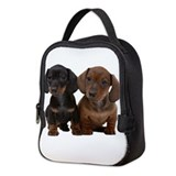 Dachshund Neoprene Lunch Bag