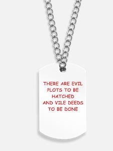 evil Dog Tags