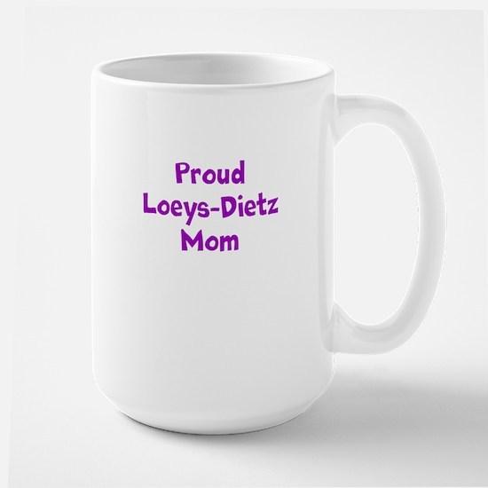 Proud LDS Mom Large Mug