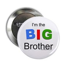 Tricolor I'm the BIG Brother Button