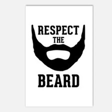 Respect The Beard Postcards (Package of 8)