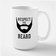 Respect The Beard Large Mug