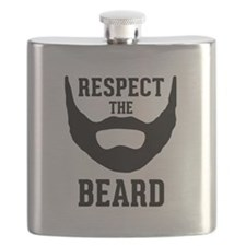 Respect The Beard Flask