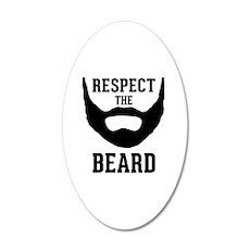 Respect The Beard Wall Decal