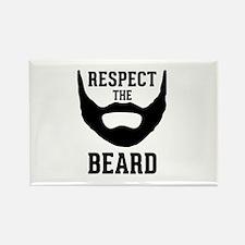 Respect The Beard Rectangle Magnet (10 pack)