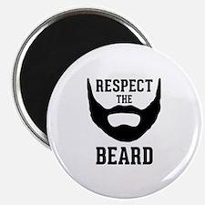 """Respect The Beard 2.25"""" Magnet (100 pack)"""