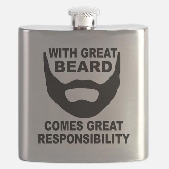 Beard Responsibility Flask