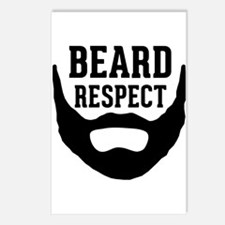 Beard Respect Postcards (Package of 8)