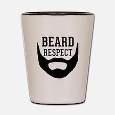 Beard Respect Shot Glass