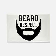 Beard Respect Rectangle Magnet (10 pack)