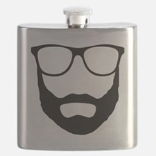 Cool Beard Dude Flask