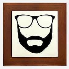 Cool Beard Dude Framed Tile