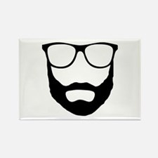 Cool Beard Dude Rectangle Magnet (10 pack)