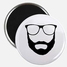"Cool Beard Dude 2.25"" Magnet (100 pack)"