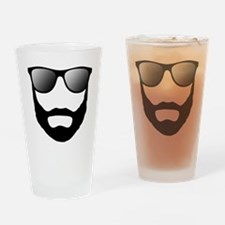 Cool Beard Dude Drinking Glass